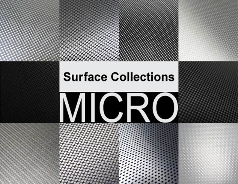 Micro Surface Collections | Patterns on Aluminum in ebook