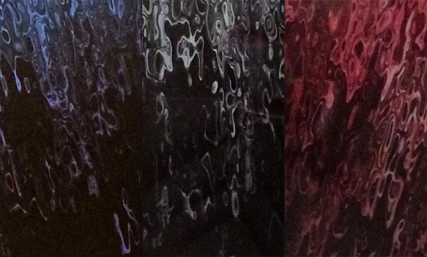 liquid metal close ups