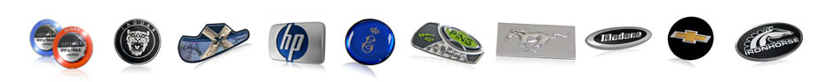 Nameplates, Labels and Badges to promote brand awareness