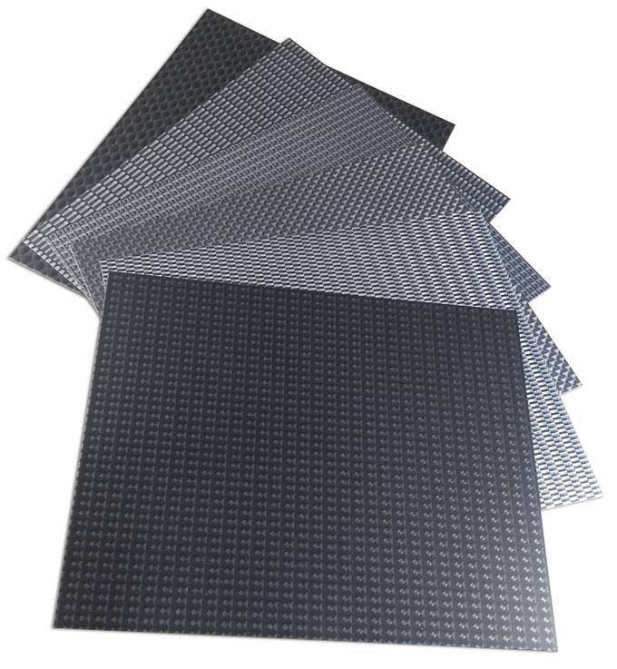 dimensional aluminum surfaces