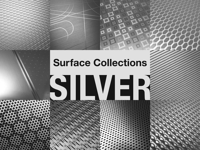 silver finishes on aluminum
