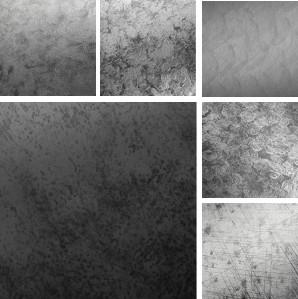 Hammered Aluminum Surface Collection