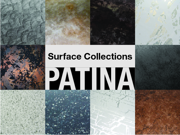 Patina finishes on aluminum