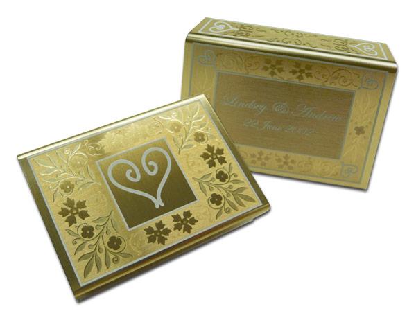 aluminum matchbox cover