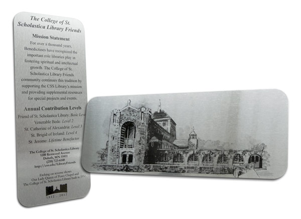 chapel bookmark