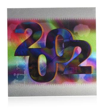 class of 2002 aluminum nameplate