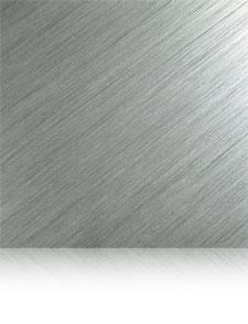 aggressive brushed aluminum