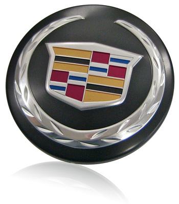 Cadillac Aluminum Emblem
