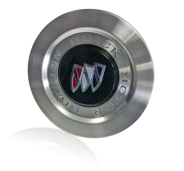 Buick aluminum wheel insert