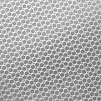 hex pattern on aluminum