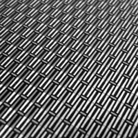 woven metal finish