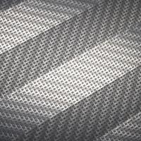 woven chevron mesh pattern