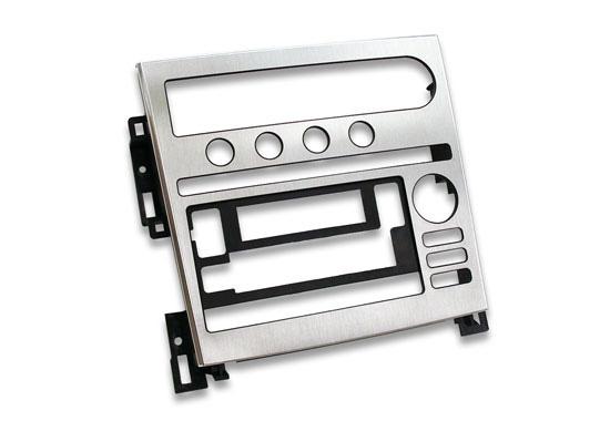 aluminum in mold trim