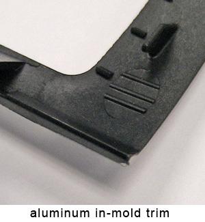 aluminum in-mold