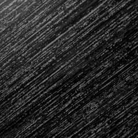 brushed black finish