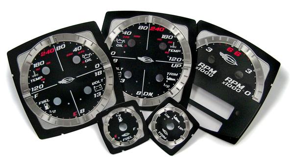 aluminum / polycarbonate gauges
