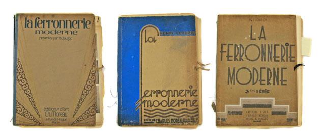 La Ferronnerie Moderne books