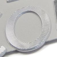 zebra diamond cut detail