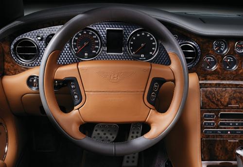 Bentley Azure engine turn trim