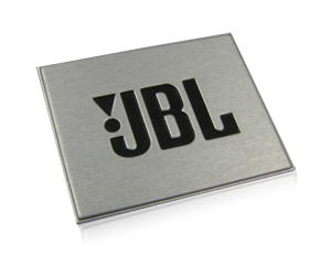 JBL nameplate