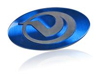 blue vornado nameplate
