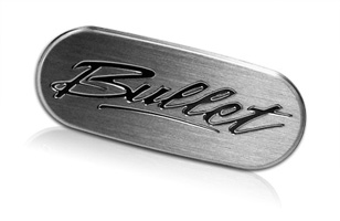 bullet nameplate