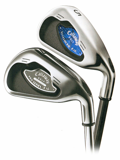 callaway x-16 nameplates in clubs