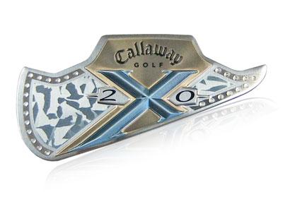 Callaway golf nameplate