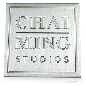 deep etch aluminum nameplate, brushed aluminum two-tone nameplate