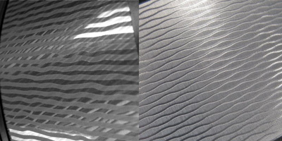 clear texture on patterns