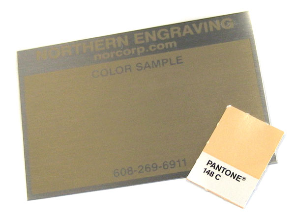 pastel color match on aluminum