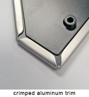 crimped aluminum