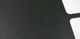 Dell XFR plastic overlay finish detail