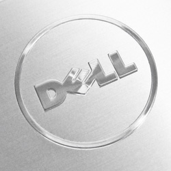 DELL Computer | Spun ALuminum Logo
