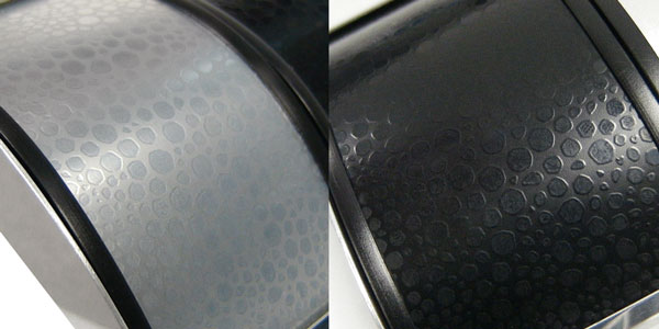 faux stingray aluminum texture