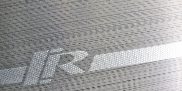 brushed finish with knurled accent | EURO-1557-A-1050