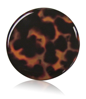 tortoise shell compact cover