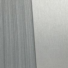 grey brushed aluminum