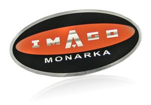 image stripe graphic on nameplate