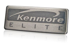 kenmore elite nameplate
