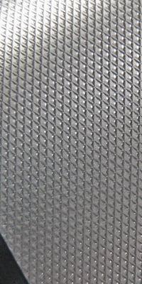 knurled aluminum finish