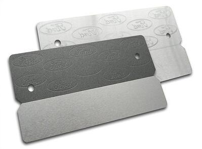 Aluminum VIN nameplate