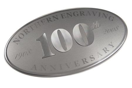diamond cut anniversary badge