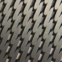 aluminum carbon fiber finish