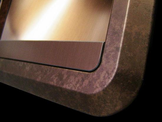 copper tint & copper patina combination