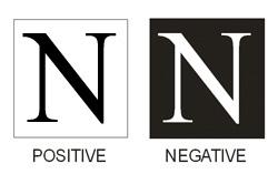 positive / negative printing