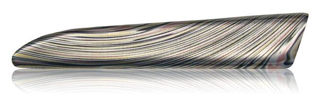 precious metals damascus steel aluminum finish