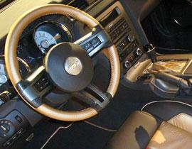 Ford SEMA Mustang Crocodile Trim