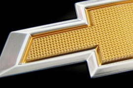 chevy bowtie engine cover texture