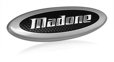 TREK Madone nameplate